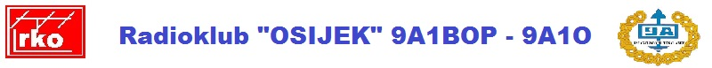 "Radioklub ""Osijek""     9A1BOP - 9A1O"
